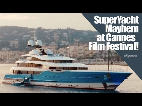 SuperYacht Mayhem at Cannes Film Festival!