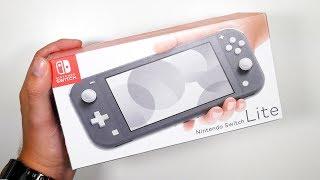 Unboxing GREY Nintendo Switch Lite