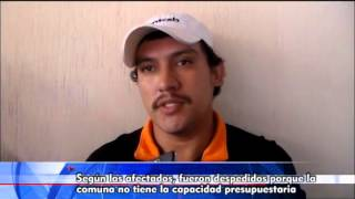 CONTINÚAN DESPIDOS INJUSTIFICADOS EN MUNICIPALIDAD DE SAN RAFAEL PIE DE LA CUESTA