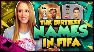 THE DIRTIEST NAMES IN FIFA 16 !! FIFA 16 SQUAD BUILDER !