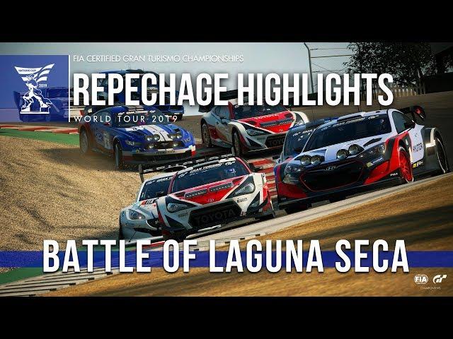 Battle Of Laguna Seca - GT Sport Nations Cup Highlights