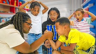 KIDS Get BULLIED In Arm Wrestling, THE BULLY LEARNS HIS LESSON   Ep.2