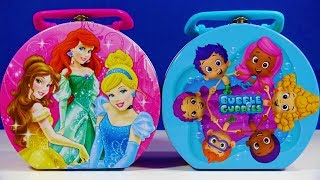Disney Princess Lunch Box & Slime Clay Shopkins Food Fair Hatchimals CollEGGtibles Kinder Joy MLP