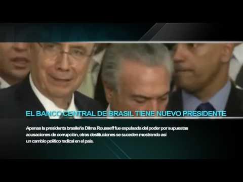Temer nombra a un israelí presidente del Banco Central de Brasil