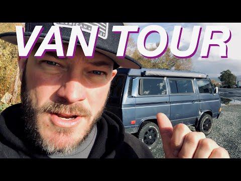 Living The Van Life - Van Tour