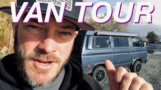 Living The Van Life - Van Tour