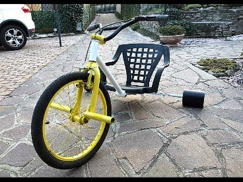 DT1 Drift Trike ( Triciclo Drift )..Fai Da Te