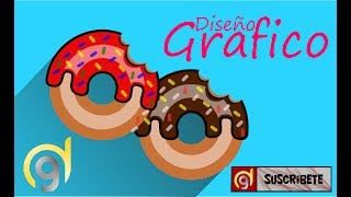 🔴 TUTORIAL INKSCAPE, How to make a DONATE or ROSQUILLA ⭐⭐⭐⭐⭐