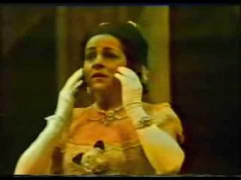 """Ileana COTRUBAS sings """"E strano...Sempre libera"""""""