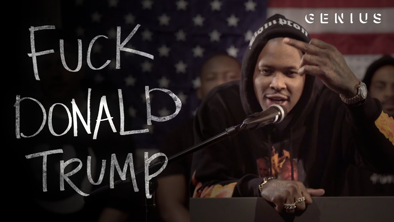 """Download YG Turns """"Fuck Donald Trump"""" Into the Year's Best Political Attack Ad"""