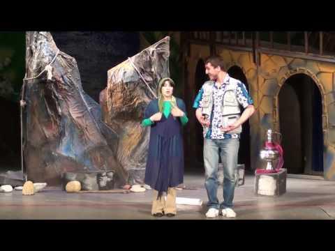 САМЫЙ ЛУЧШИЙ СПЕКТАКЛЬ для детей и взрослых - ЛЕТУЧИЙ КОРАБЛЬ в Театриуме на Серпуховке