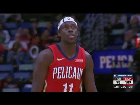 New Orleans Pelicans vs. Portland Trail Blazers | November 19, 2019