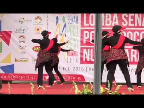 Lomba Senam Poco-Poco Nusantara BPK RI (kesehatan)