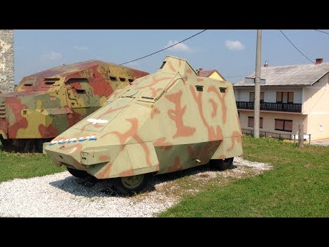 Homemade Tanks of the Yugoslav Wars 1991 to 1999