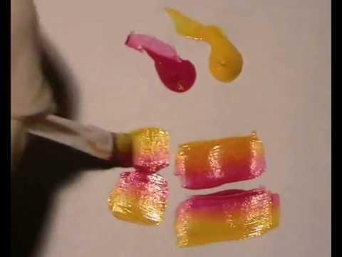 Jak Malować Farbami Akrylowymi Cz1 Youtube