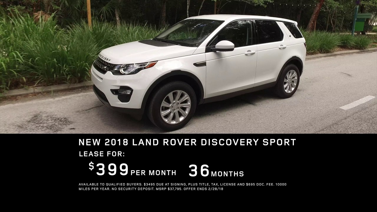 Land Rover Jacksonville >> Land Rover Jacksonville Discovery Special Offer
