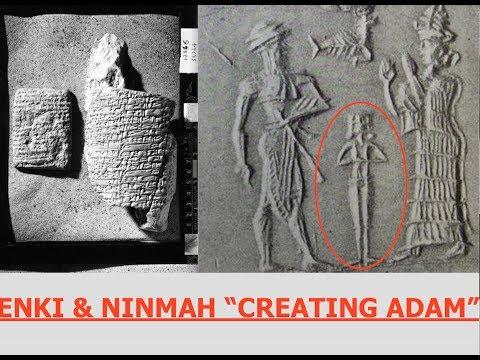 "Ancient Sumerian Tablet, Enki & Ninmah Create ""Adam"" 6,000 Year Old Text"