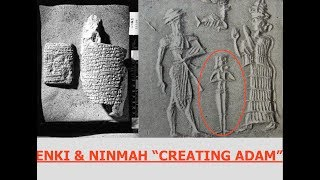 Ancient Sumerian Tablet, Enki & Ninmah Create