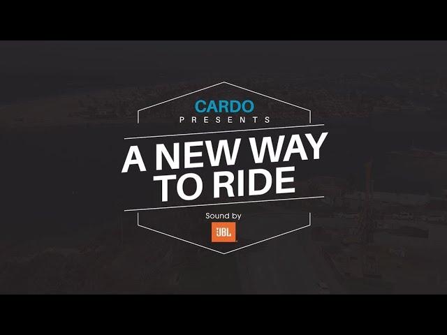 Cardo X JBLコラボレーション 最強音質とライディングを楽しんで!