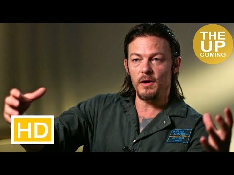 Norman Reedus interview on Triple 9, The Walking Dead, Chiwetel Ejiofor