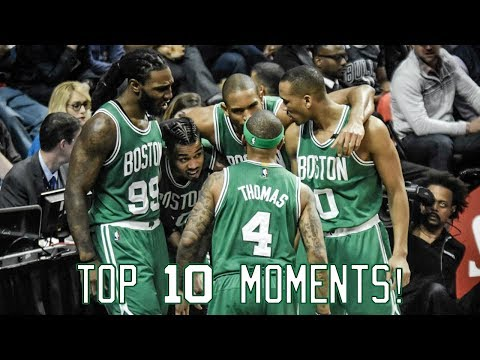 Boston Celtics: Top 10 Moments of the 2016-17 Season!