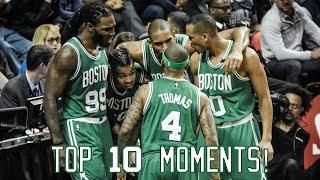 Boston Celtics: Top 10 Moments of the 2016-17 Season!