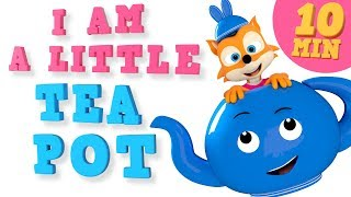 I Am A Little Teapot And Many More Songs For Kids Nursery Rhymes Collection WooHoo Rhymes 4K