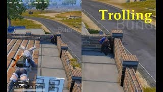 Trolling Noobs in PUBG MOBILE 😂 😂