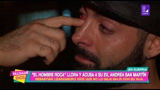 Sebastián Lizarzaburu llora y acusa a Andrea San Martín de no dejarlo ver a su hija