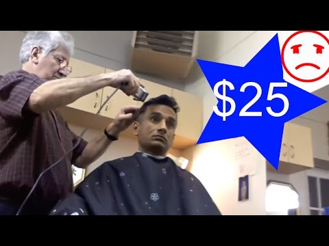 $ 25 Haircut in Canada With French Barber - Indian Traveller