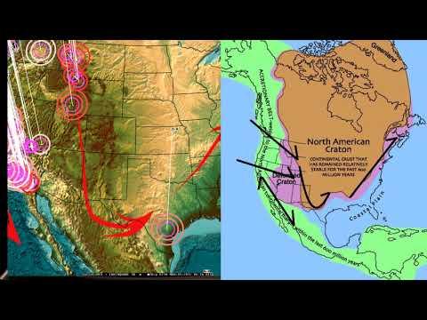 11/14/2017 -- West Coast USA / California Earthquake swarm -- San Andreas creeping section in flux