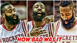 James Hardens game 6.. how bad was it?