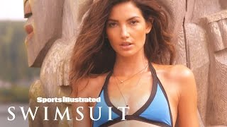 Sexy Lily Aldridge Outtakes SI Swimsuit 2015