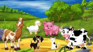 """""""Песенка про животных"""" для самых маленьких"""