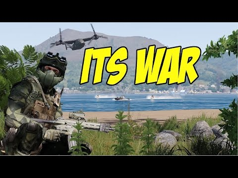 ARMA 3 TANOA WASTELAND - ITS WAR!
