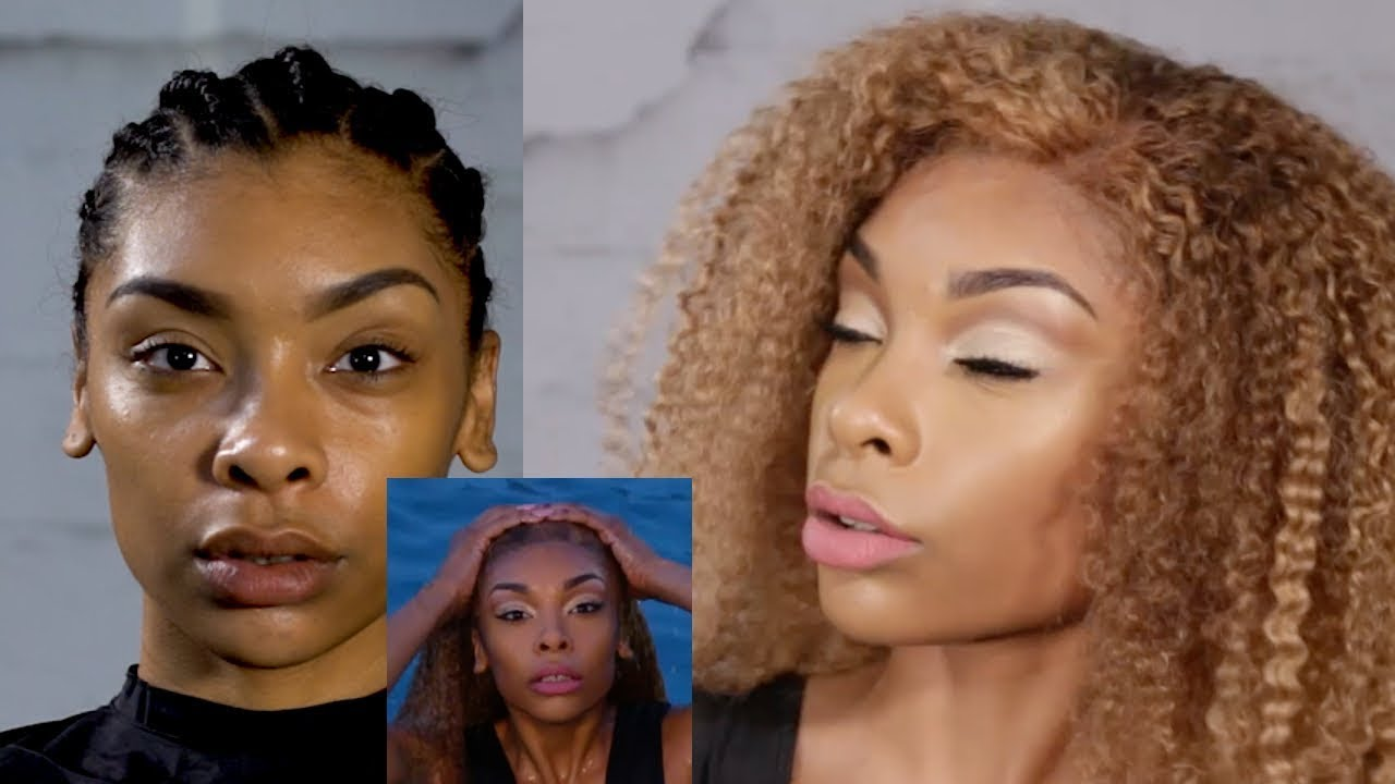 Lace Front Wig Glue Water Proof Youtube