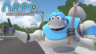 ARPO The Robot For All Kids - Homeless Robot | Compilation | Cartoon for Kids