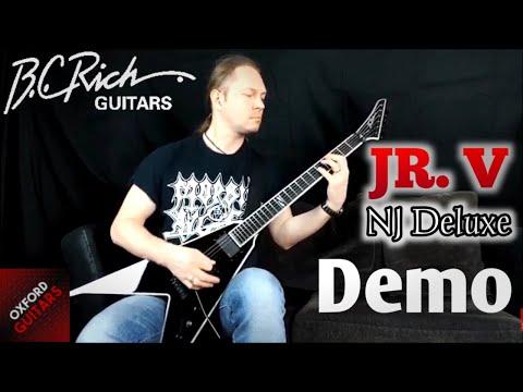 BC Rich JR. V NJ Deluxe Guitar Demonstration