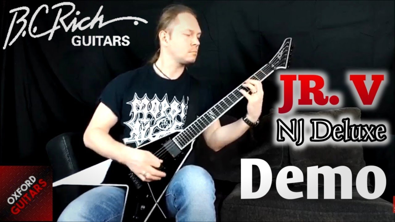 bc rich jr v nj deluxe guitar demonstration youtube. Black Bedroom Furniture Sets. Home Design Ideas