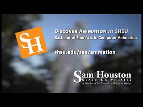 Computer Animation Degree at SHSU