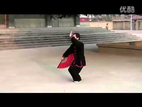 yang style 36 form tai chi fan youtube. Black Bedroom Furniture Sets. Home Design Ideas