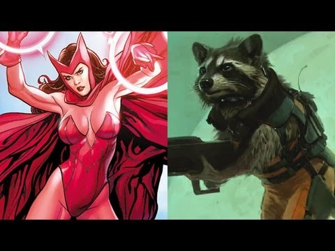 Marvel Finds Their Scarlet Witch & Rocket Raccoon