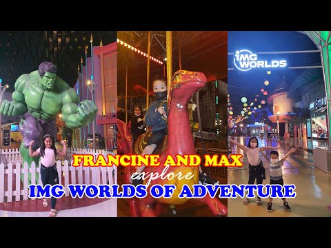 IMG Worlds of Adventure (DUBAI) – The Largest Indoor Theme Park in the WORLD!