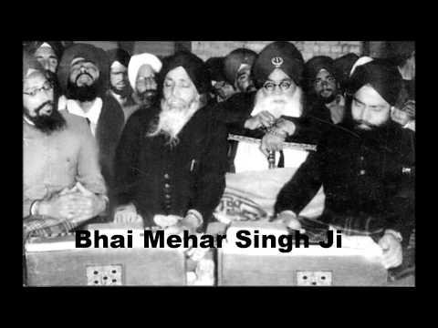 AKJ Puratan Kirtan Bhai Mehar Singh Ji-Haleh Yaraa Haleh Yaraa Kushkabiree 1978 India
