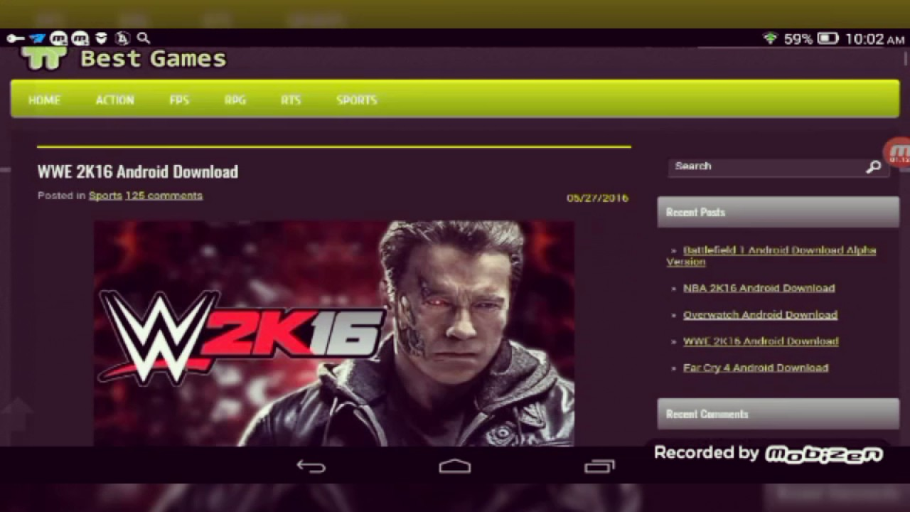 How to download WWE 2K16 on Android 100% work!!! GET Link ...
