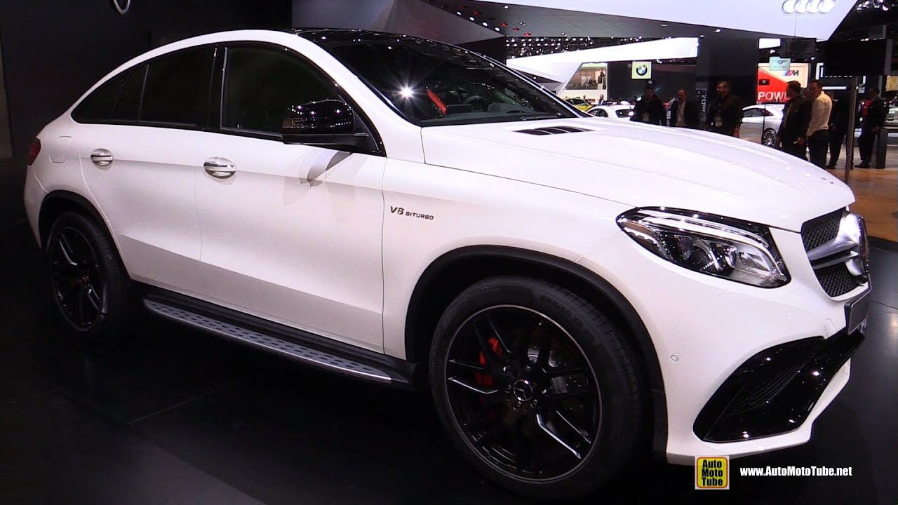 2016 mercedes benz gle class gle63 amg s coupe ext interior walkaround 2015 detroit auto. Black Bedroom Furniture Sets. Home Design Ideas