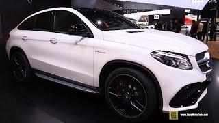 2016 Mercedes-Benz GLE-Class GLE63 AMG S Coupe - Ext , Interior Walkaround - 2015 Detroit Auto Show