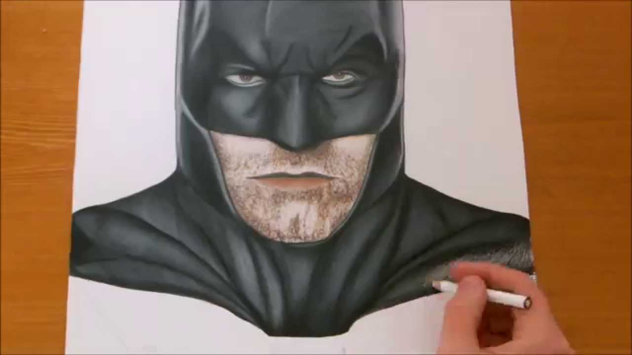 Batman Drawing How To Draw Batman-Tutorial