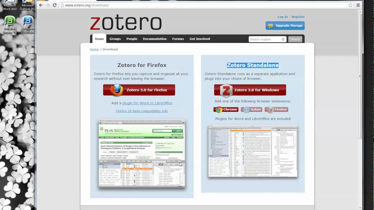 Getting Started with Zotero: Using Zotero Standalone