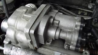 How to check EGR Valve on a Euro 4 engine in a Ford Focus or Transit Connect
